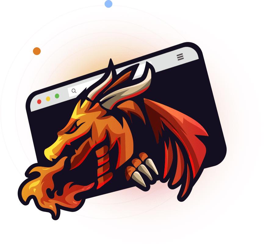 Spyrath Dev - Dragon Illustration